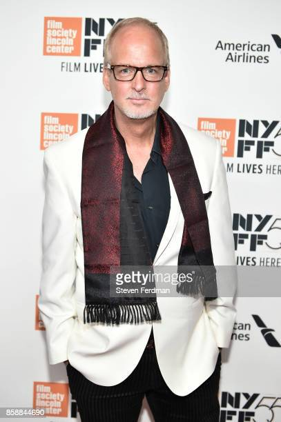 Larry Cech attends the 55th New York Film Festival 'Wonderstruck' premiere at Alice Tully Hall on October 7 2017 in New York City