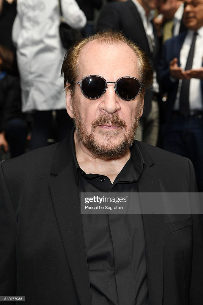 Larry Clark attends the Dior Homme Menswear Spring/Summer 2017 show as part of Paris Fashion Week on June 25, 2016 in Paris, France.