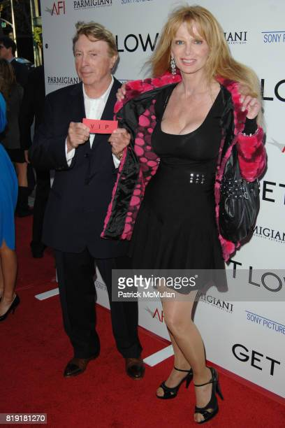 Larry Cohen and Lauren Landon attend Los Angeles Premiere of GET LOW at Academy of Motion Picture Arts and Sciences on July 27 2010 in Beverly Hills...