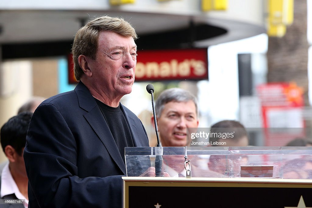 Larry Cohen attends Film Producer Jack H Harris being honored with Star On The Hollywood Walk Of Fame on February 4 2014 in Hollywood California