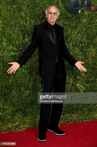 Larry David attends the 2015 Tony Awards at Radio City Music Hall on June 7 2015 in New York City