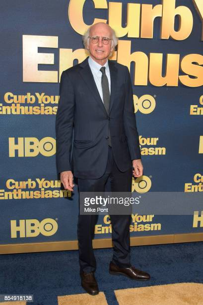 Larry David attends the 'Curb Your Enthusiasm' season 9 premiere at SVA Theater on September 27 2017 in New York City