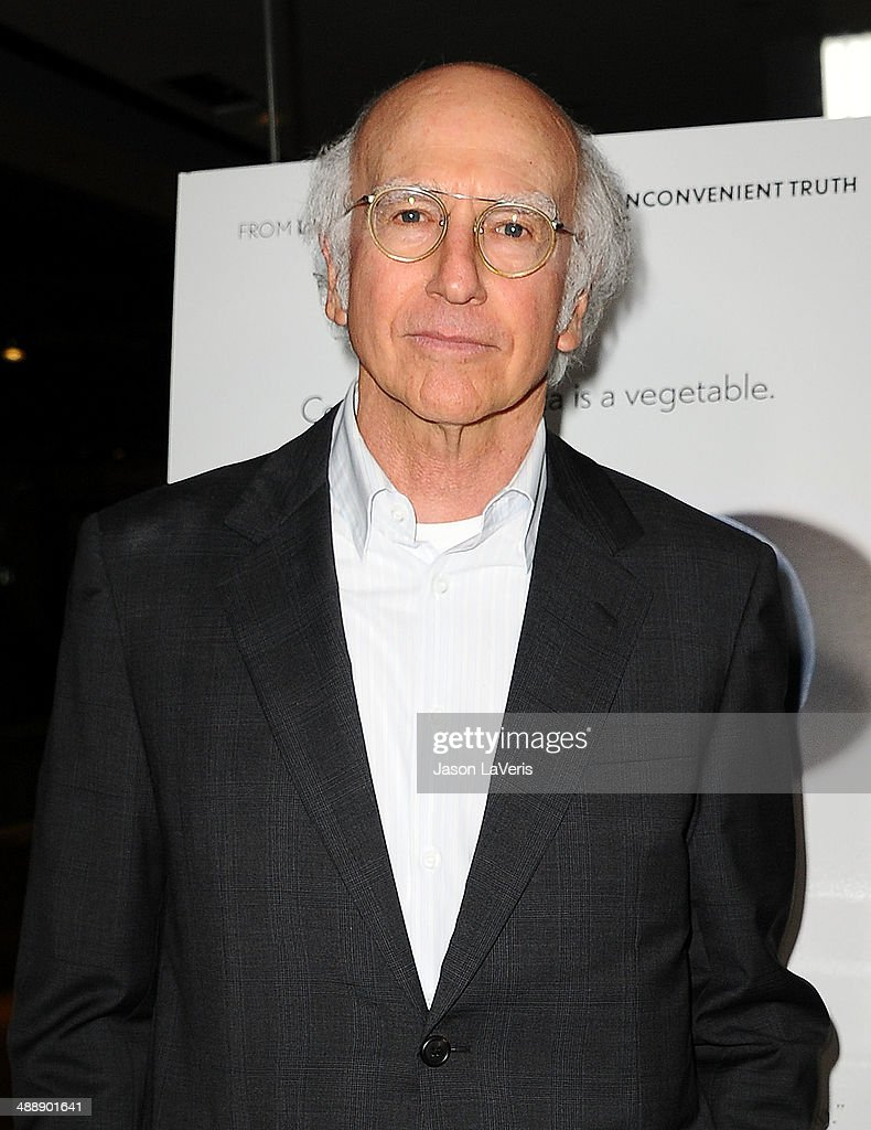<a gi-track='captionPersonalityLinkClicked' href=/galleries/search?phrase=Larry+David&family=editorial&specificpeople=125184 ng-click='$event.stopPropagation()'>Larry David</a> attends the premiere of 'Fed Up' at Pacfic Design Center on May 8, 2014 in West Hollywood, California.