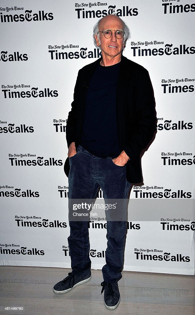 TimesTalks Presents A Conversation With Larry David