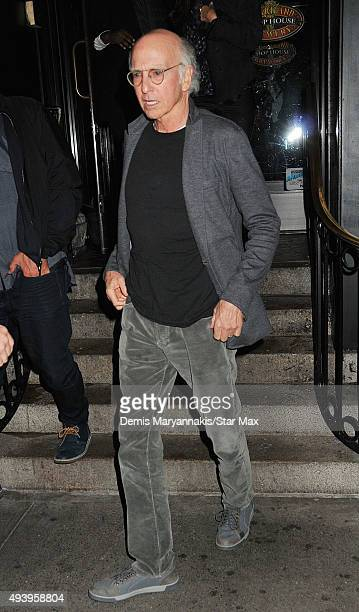 Larry David is seen on October 17 2015 in New York City