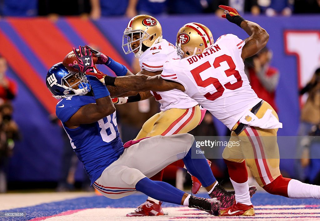 Nike NFL Jerseys - San Francisco 49ers v New York Giants | Getty Images