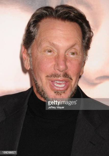 Larry Ellison arrives at the 'The Guilt Trip' Los Angeles Premiere at Regency Village Theatre on December 11 2012 in Westwood California