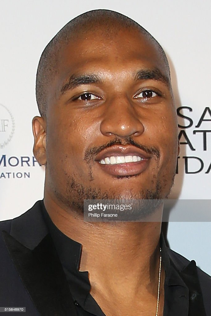 Larry English attends a fundraising event hosted by Sanaa Lathan at Beso on March 15 2016 in Hollywood California