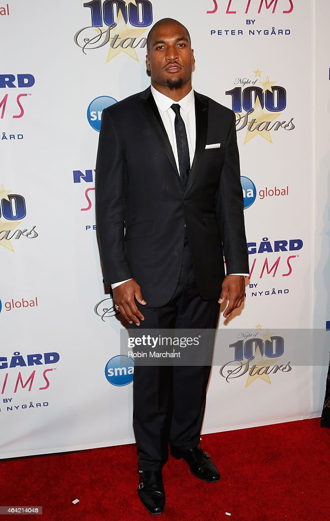 Larry English attends the Norby Walters 25th Annual Night of 100 Stars Oscar Viewing Gala at The Beverly Hilton Hotel on February 22 2015 in Beverly...