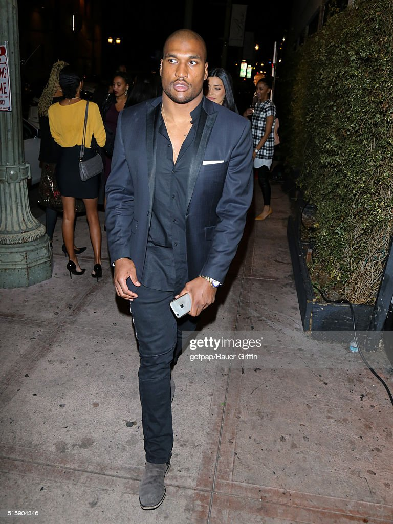 Larry English is seen on March 15 2016 in Los Angeles California