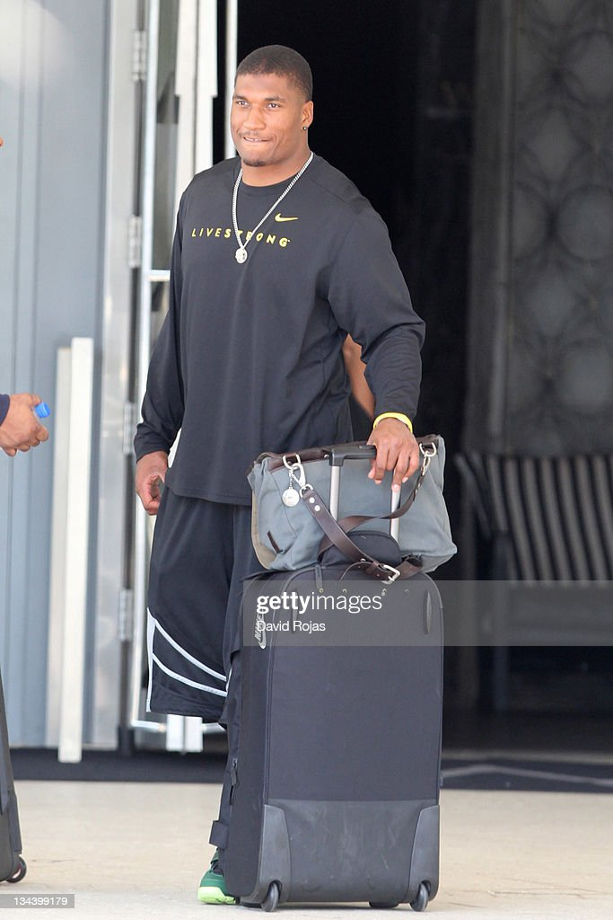 Larry English is sighted on January 22 2011 in Miami Florida