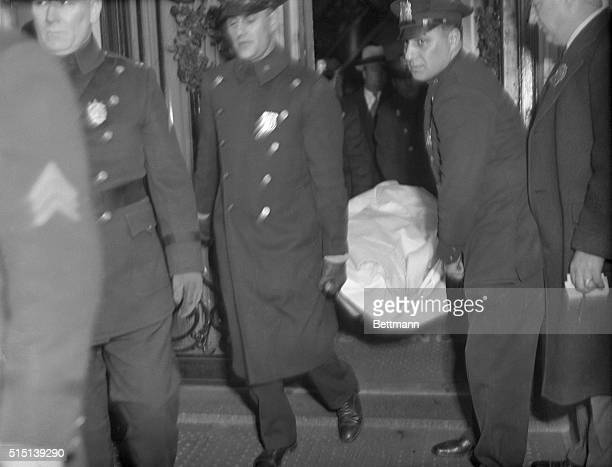 Larry Fay of New York's Gangland was killed New Year's night in a dispute over wages with a night club doorman Two bullets from a wavering32 calibre...