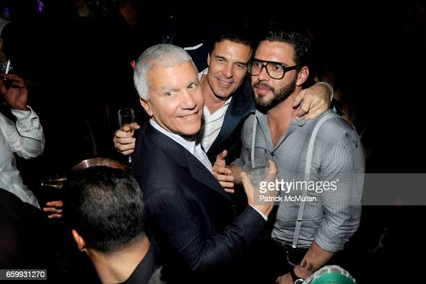 Larry Gagosian Andre Balazs and Lorenzo Martone attend Party at WALL Hosted by VITO SCHNABEL STAVROS NIARCHOS ALEX DELLAL at WALL at the W SOUTH...
