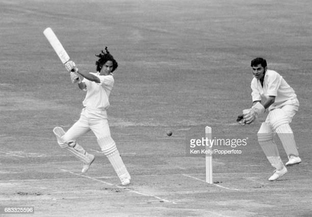 Larry Gomes batting for Middlesex during the Gillette Cup Final between Middlesex and Lancashire at Lord's Cricket Ground London 6th September 1975...