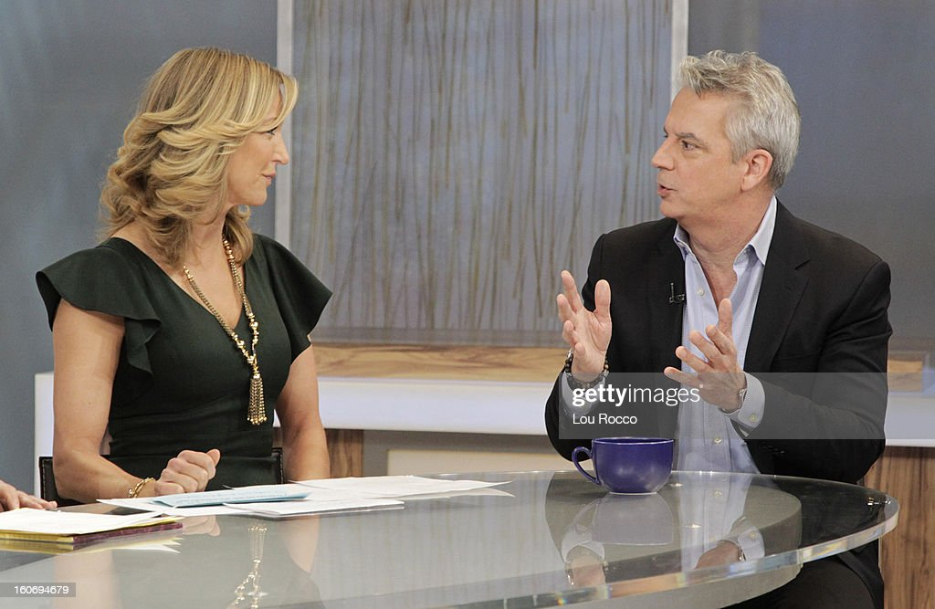 AMERICA - Larry Hackett of People Magazine is a guest on 'Good Morning America,' 2/4/13, airing on the ABC Television Network. (Photo by Lou Rocco/ABC via Getty Images) LARA