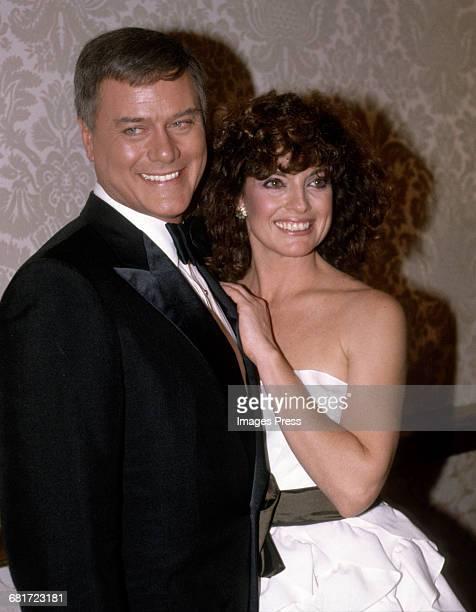 Larry Hagman and Linda Gray circa 1981 in Los Angeles California