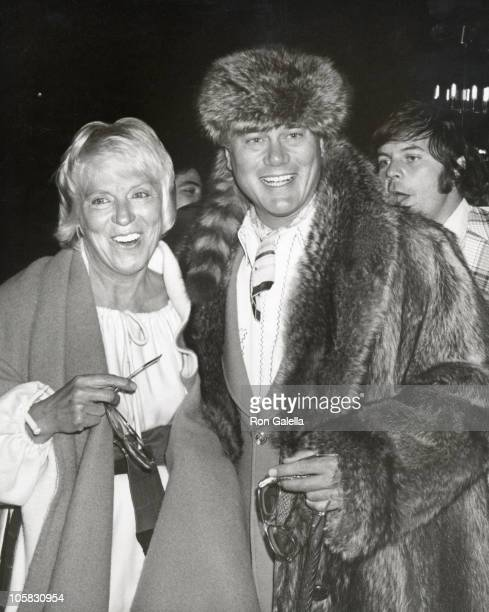 Larry Hagman and Maj Hagman during 'An Eve of Comedy' at Coconut Grove in New York City New York United States
