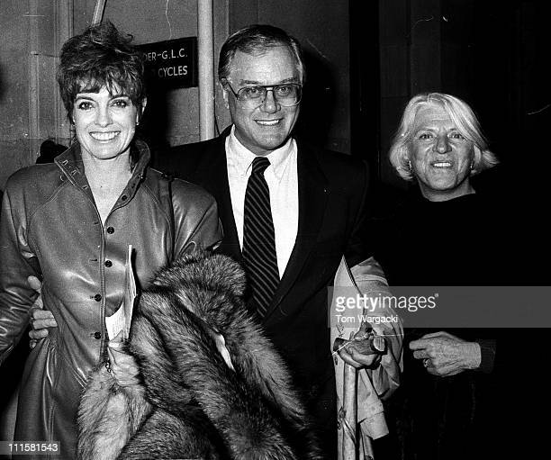 Larry Hagman and wife Maj during Larry Hagman and Linda Gray at the Musical 'Phantom of the Opera' At Her Majestys Theatre at Booth Theatre in New...