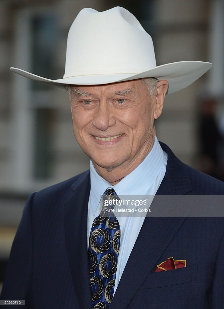 Larry Hagman attends the launch party of Dallas at Old Billingsgate