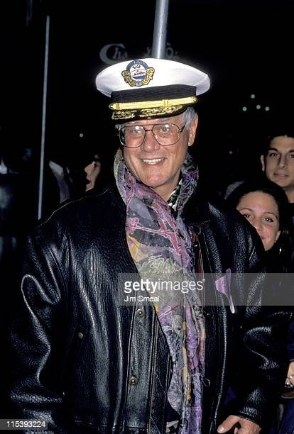 Larry Hagman during Party for Carly Simon's New Double Day Book 'Nightmare Chauffer' at Central Park Boathouse in New York City New York United States