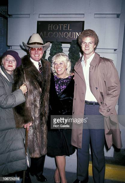 Larry Hagman wife Maj son Preston and daughter Heidi