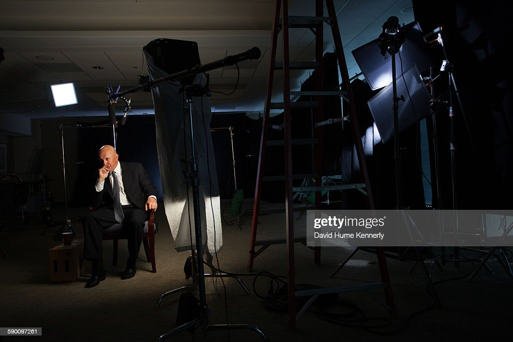 Larry Higby assistant to President Nixon's White House Chief of Staff HR Haldeman is interviewed for 'The Presidents' Gatekeepers' documentary...