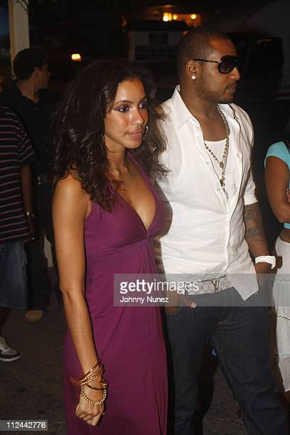 Larry Johnson and Julissa Bermudez sighting in Barbados April 28 2008 St Peter Barbados