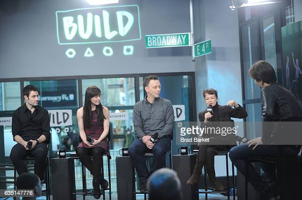 Larry Kaigwin Eran Bugge Lila Yorkand Robert Kleinendorst of the the Paul Taylor Dance Company attends the Build Series Presents The Paul Taylor...
