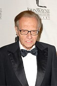 Larry King arrives at the 22nd Annual Odyssey Ball a major fundraiser for the John Wayne Cancer Insitute at the Beverly Hilton Hotel King was honored...