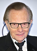 Larry King attends as the Friars Club Honors Tony Bennett With The Entertainment Icon Award Arrivals at New York Sheraton Hotel Tower on June 20 2016...