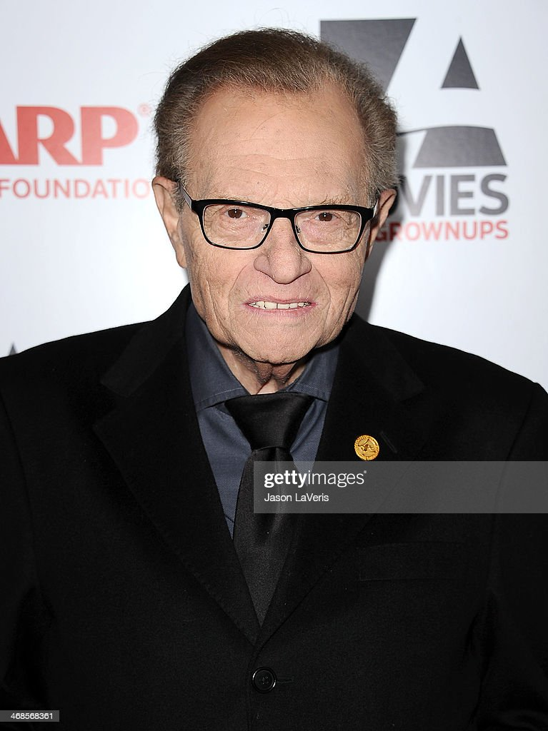 Larry King attends the 13th annual AARP's Movies For Grownups Awards gala at Regent Beverly Wilshire Hotel on February 10, 2014 in Beverly Hills, California.