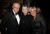 Larry King Linda Ellerbee and Suze Orman during 31st Annual American Women in Radio Television Gracie Allen Awards Inside at Mariott Marquis in New...