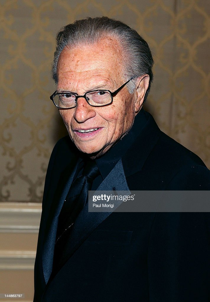 <a gi-track='captionPersonalityLinkClicked' href=/galleries/search?phrase=Larry+King&family=editorial&specificpeople=202014 ng-click='$event.stopPropagation()'>Larry King</a> poses for a photo at the 18th Annual <a gi-track='captionPersonalityLinkClicked' href=/galleries/search?phrase=Larry+King&family=editorial&specificpeople=202014 ng-click='$event.stopPropagation()'>Larry King</a> Cardiac Foundation Gala at Ritz Carlton Hotel on May 19, 2012 in Washington, DC.