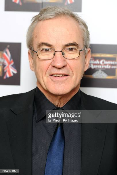 Larry Lamb arrives for the British Comedy Awards 2008 at the ITV London Television Studios Upper Ground South Bank London