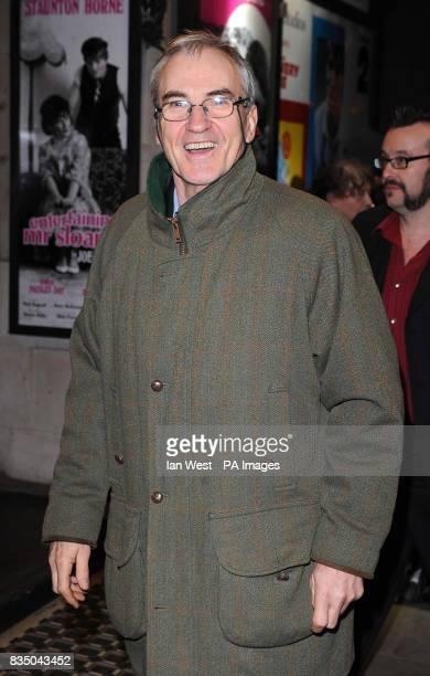 Larry Lamb arrives for the press night of Entertaining Mr Sloane at the Trafalgar Studios in London