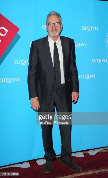 Larry Lamb arriving at the Arqiva Commercial Radio Awards held at the Westminster Bridge Park Plaza Hotel London