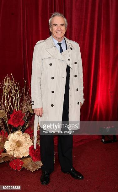 Larry Lamb arriving for the 2010 British Soap Awards at the ITV Studios South Bank London