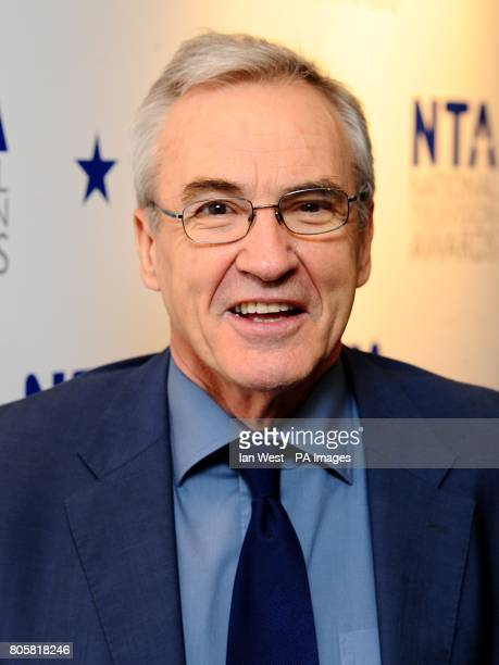 Larry Lamb arriving for the National Television Awards 2010 at the 02 Arena London