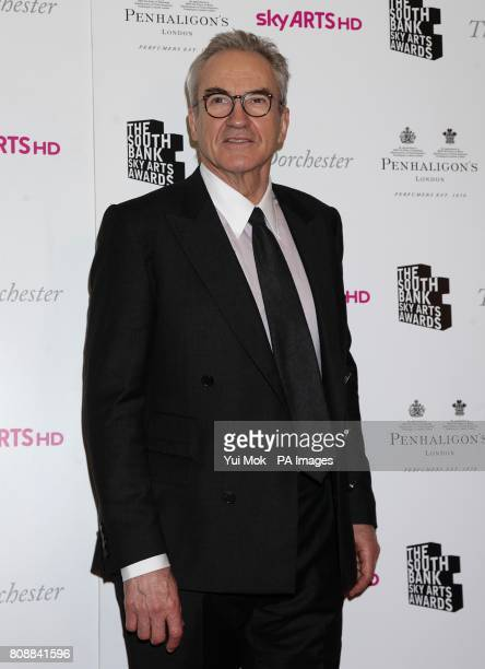 Larry Lamb arriving for the South Bank Sky Arts Awards at the Dorchester Hotel London