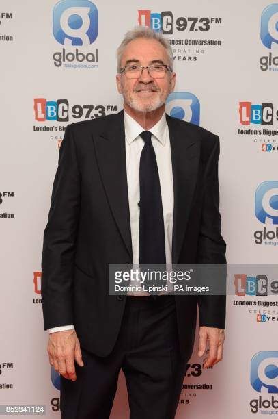 Larry Lamb at the LBC 973 40th birthday party at Millbank Tower in Westminster central London