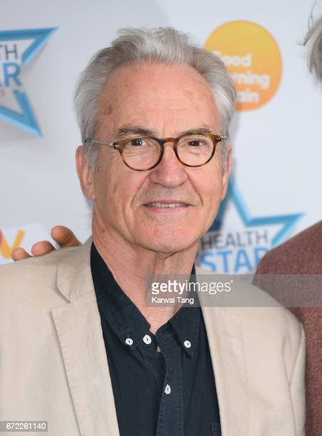 Larry Lamb attends the Good Morning Britain Health Star Awards at the Rosewood Hotel on April 24 2017 in London United Kingdom