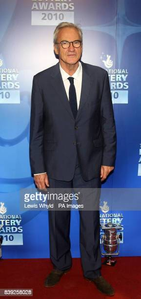 Larry Lamb attends the National Lottery Awards at the Roundhouse in central London