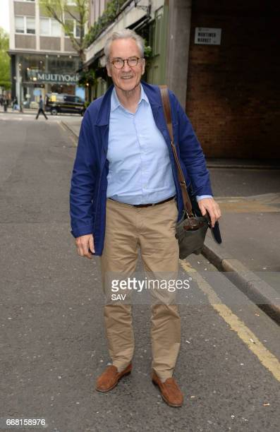 Larry Lamb pictured outside the AOL Offices on April 13 2017 in London England