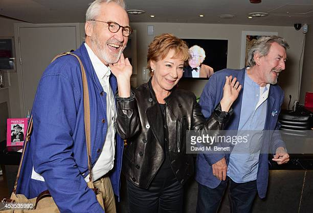 Larry Lamb Zoe Wanamaker and Gawn Grainger attend an after party celebrating the press night performance of 'Celia Imrie Laughing Matters' at the St...