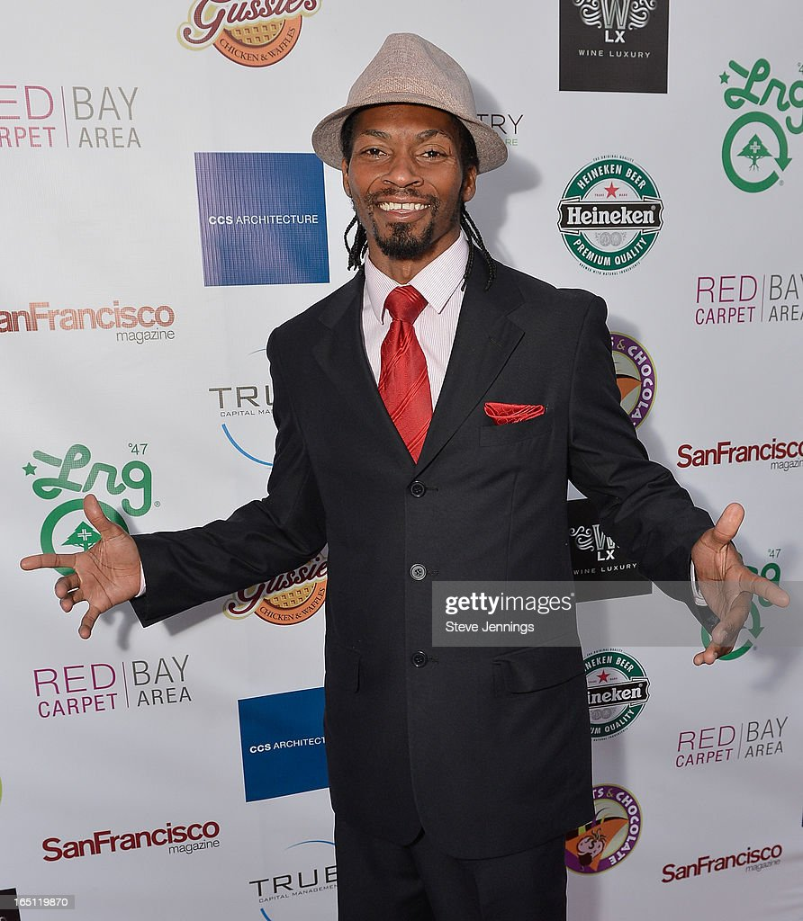 Larry Lionel attends the 6th Annual 'Where Hip Hop Meets Couture' Fashion Show at Dog Patch Wine Works on March 30, 2013 in San Francisco, California.
