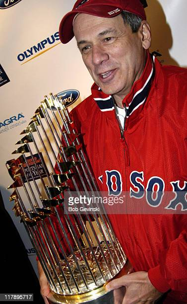 Larry Lucchino during Sports Illustrated Sportsman of the Year Party Honoring The Boston Red Sox at Avalon in Boston Massachusetts United States