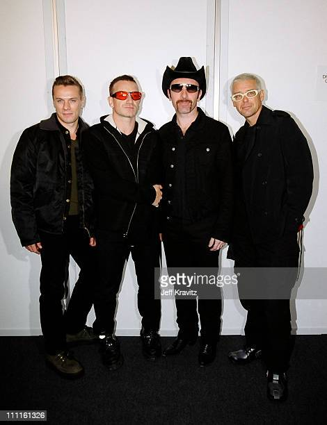 Larry Mullen Jr Bono The Edge and Adam Clayton of U2