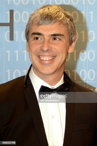 Larry Page attends the Breakthrough Prize Inaugural Ceremony at Nasa Ames Research Center on December 12 2013 in Mountain View California
