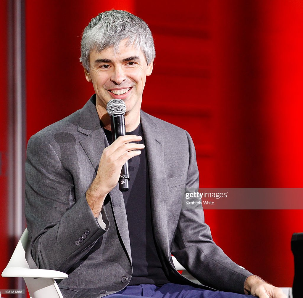 <a gi-track='captionPersonalityLinkClicked' href=/galleries/search?phrase=Larry+Page&family=editorial&specificpeople=753550 ng-click='$event.stopPropagation()'>Larry Page</a> speaks during the Fortune Global Forum at the Legion Of Honor on November 2, 2015 in San Francisco, California.