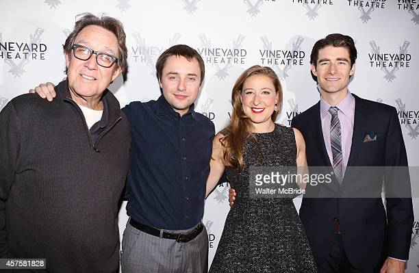 Larry Pine Vincent Kartheiser Sophie von Haselberg and Drew Gehling attend the OffBroadway opening Night Performance After Party for 'Billy Ray' at...